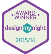 DesignMyNight awards badge