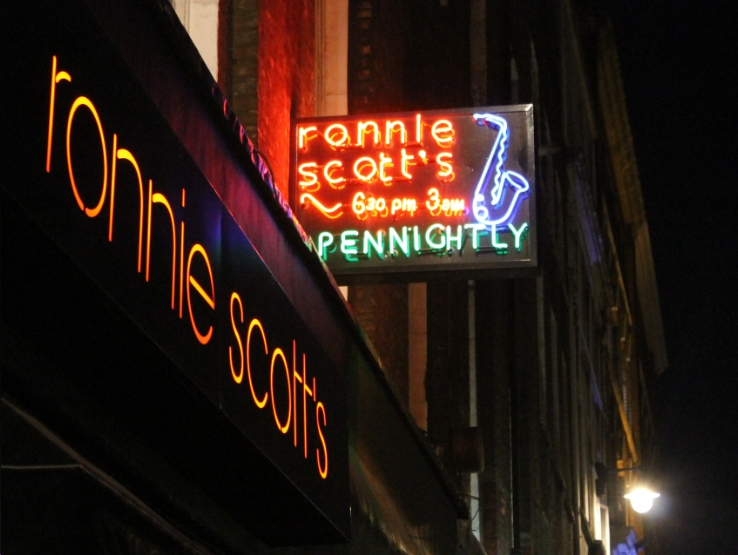 Ronnie Scotts Bar Frith Street Soho London Reviews