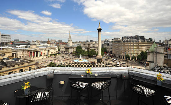 vista bar at trafalgar hotel review rooftop bar london