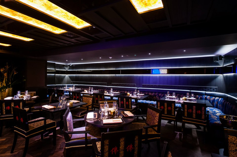 Buddha bar kensington london for Best private dining rooms west end london