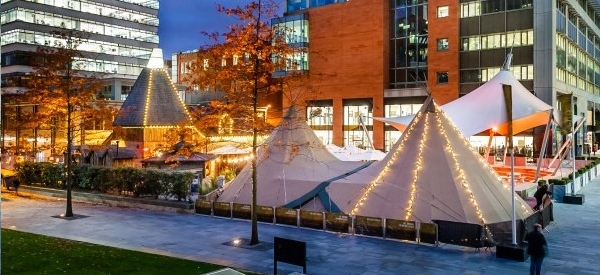 Christmas Teepee At The Oast House Manchester Pop Up