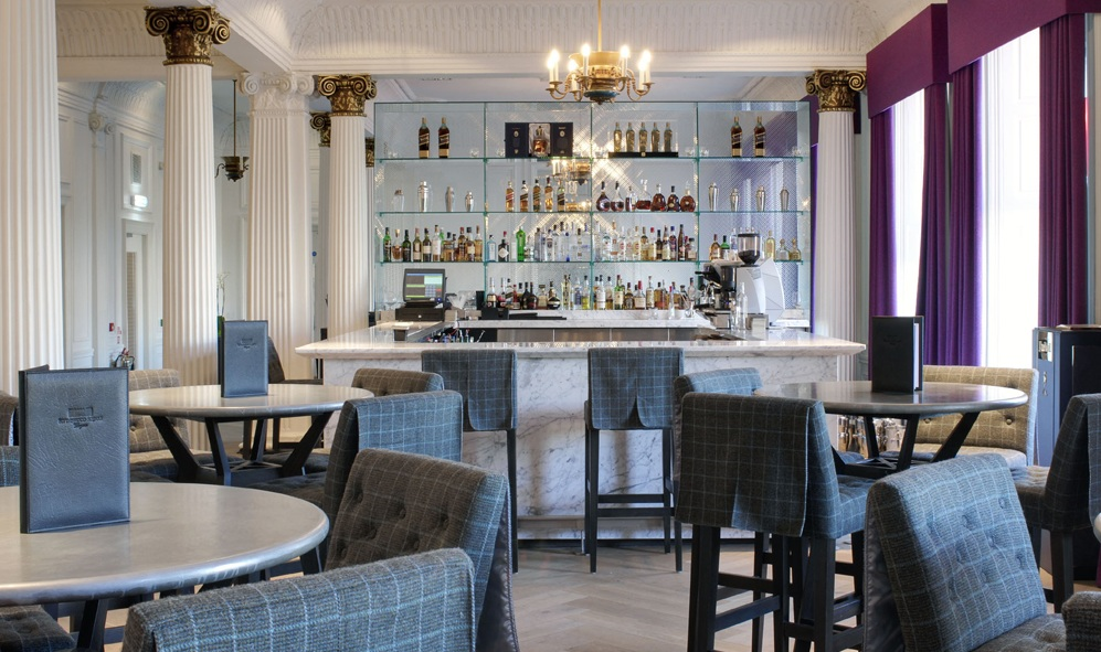 Blythswood square sauchiehall street glasgow bar for Design hotel glasgow