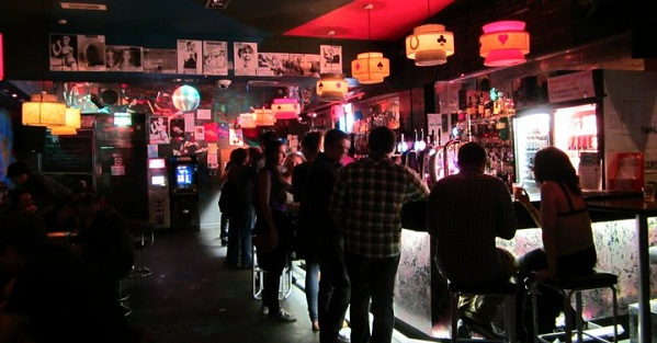 Bustling every night at Nice 'n' Sleazy