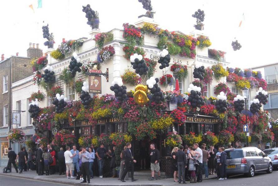The Churchill Arms Notting Hill London