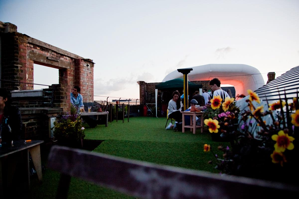 Dalston Roof Park Hackney London Bar Reviews Designmynight