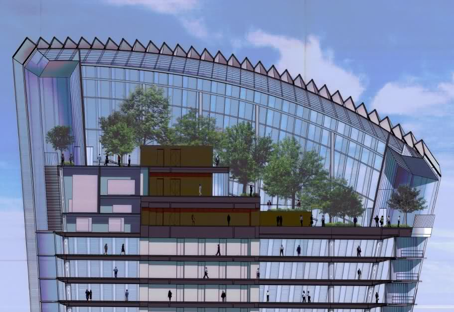 The Sky Garden At 20 Fenchurch Street Monument London