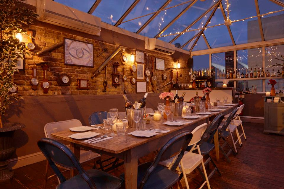 Bunga bunga battersea london for Best private dining rooms west end london