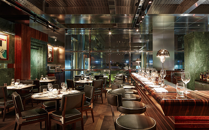 One Canada Square Restaurant And Bar Canary Wharf London
