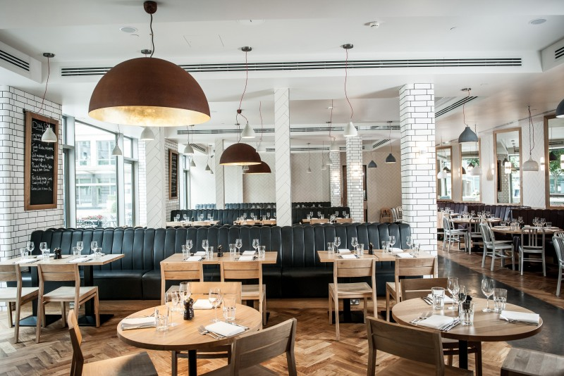 Tom S Kitchen Canary Wharf London