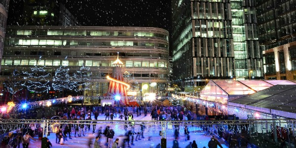 Spinningfields' Ice Rink