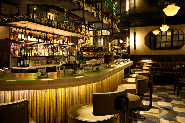 Jackson rye west end london - Deco bar design ...