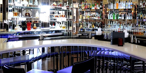 Rosso's bar area is perfect for after work drinks in Manchester