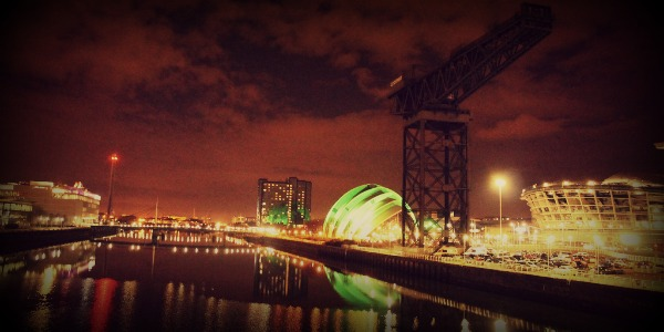 The Clyde River Glasgow