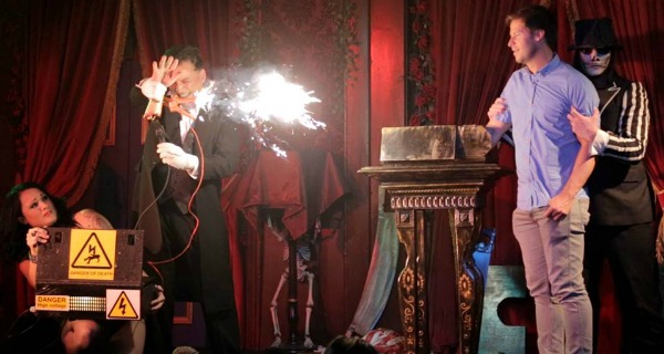 simon drake magic show review london
