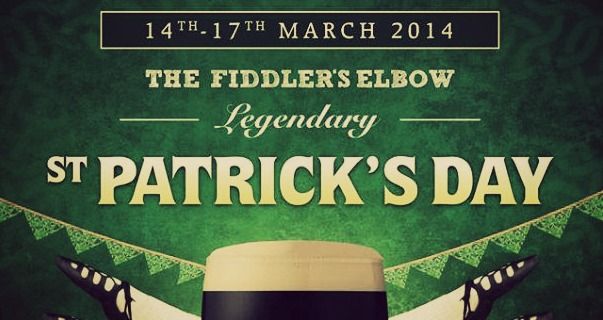 st patrick's day party fiddler's brighton