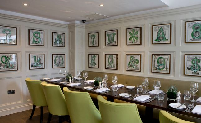 Top 10 restaurants to take your parents to london parent for Best private dining rooms in london
