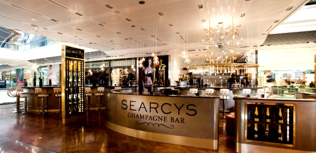 Searcy's Champagne Bar Stratford Review Book Online