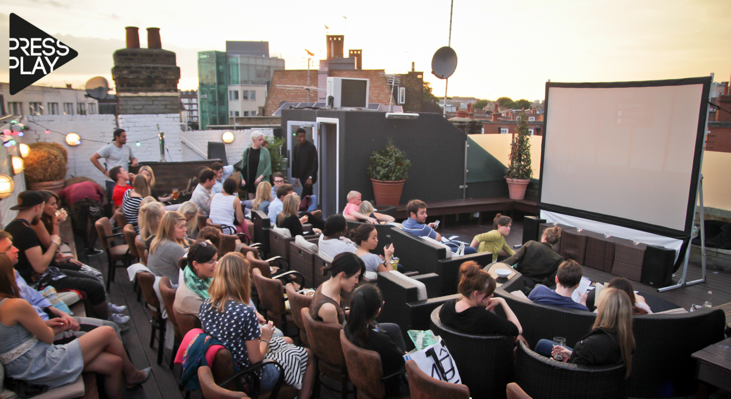 39 on the roof 39 with press play at broadway house london for Broadway house