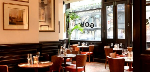 Gow's Restaurant London Review
