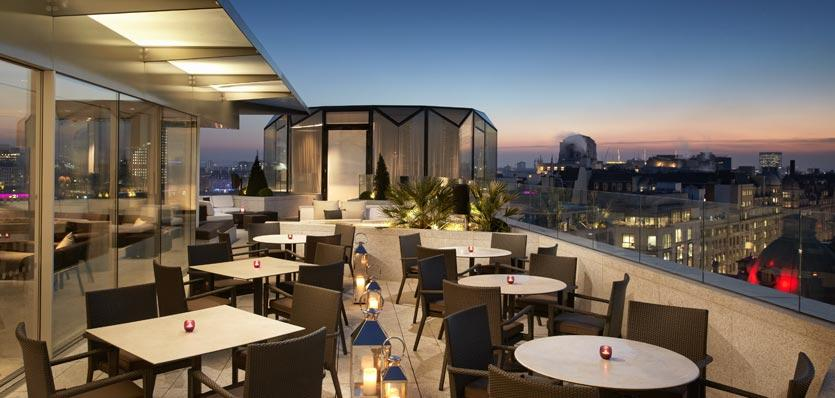 Radio Rooftop Bar Covent Garden London