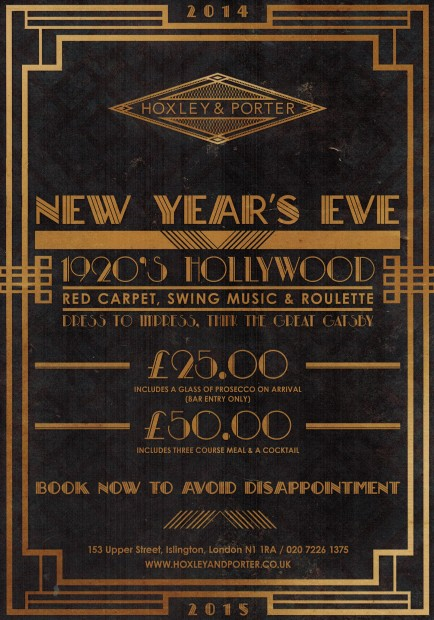 1920's Hollywood New Years Eve Party
