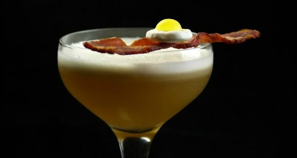 Best egg cocktails in London - Bacon and egg LCC
