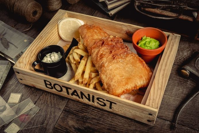 The botanist birmingham city centre birmingham for Food bar bham