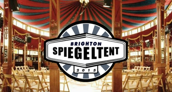 Spiegeltent returns to Brighton, designMyNight