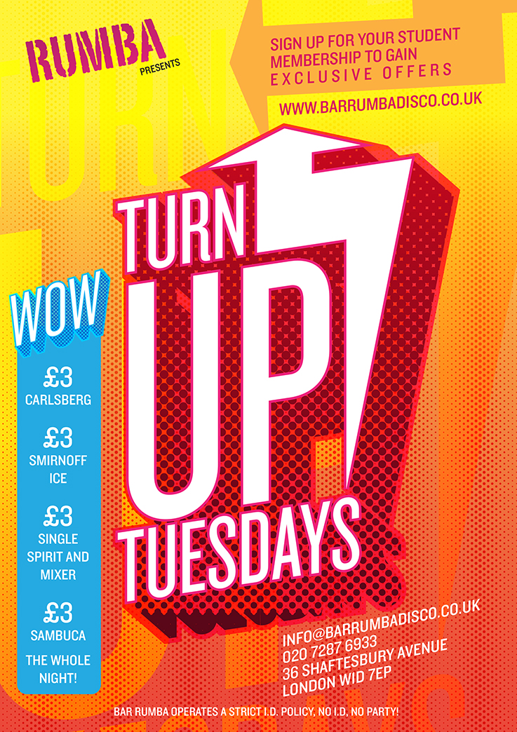 Turn Up Tuesday West End London Clubbing Reviews