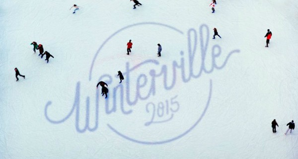 Winterville in East London's Victoria Park