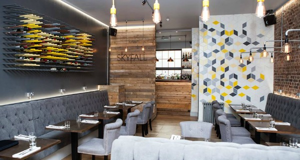 skyfall hove restaurant review food
