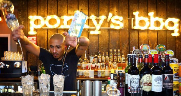 porkys chelsea restaurant bar review