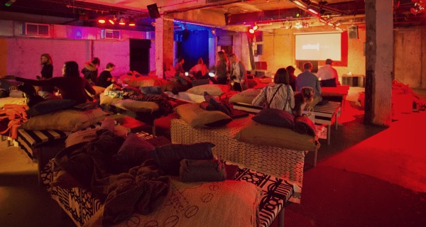 Doggie Cinema at Wringer & Mangle