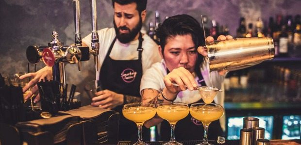 Bar Staff Smokey Tails Restaurant Hoxton Review