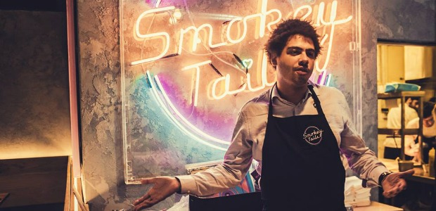 Seth Troxler Spins Tunes At Smokey Tails