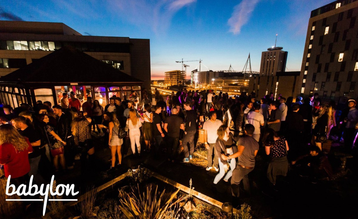Babylon Rooftop Party The Start Of Summer Cardiff