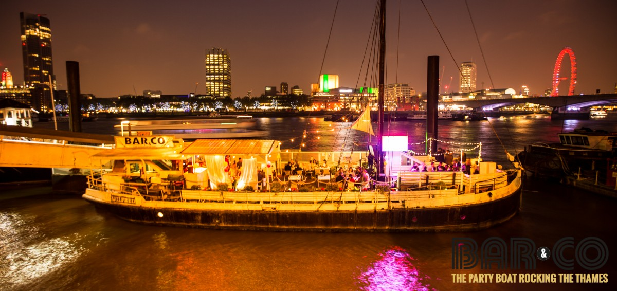 Back To School Spanish Boat Party Embankment London