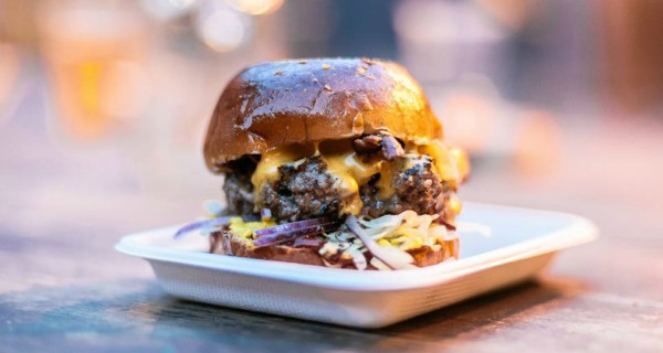 magic roundabout, burger bear, East London burgers, National Burger day