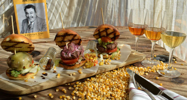 Burgers and Bourbon pop up at The Jones Family Project