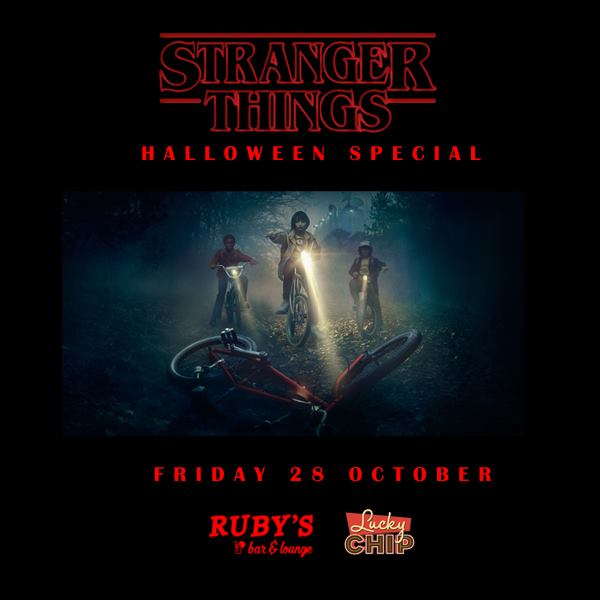 Stranger Things Halloween Special Dalston London Food