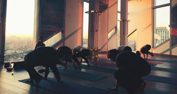 Yoga with a View at Urban Coterie