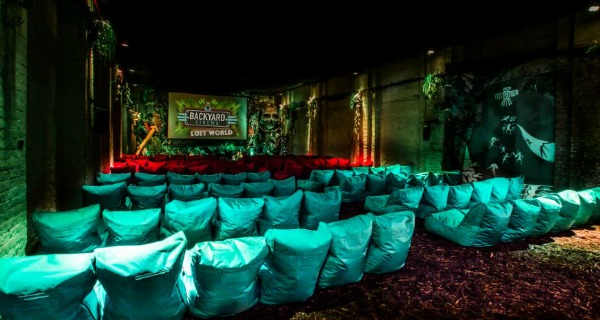 backyard cinema london review
