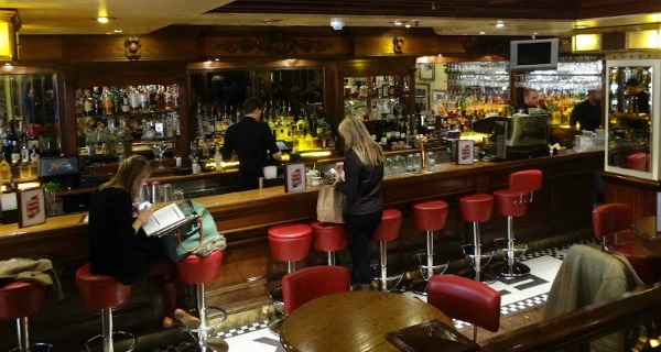 Maxwell's Bar and Grill Review Covent Garden