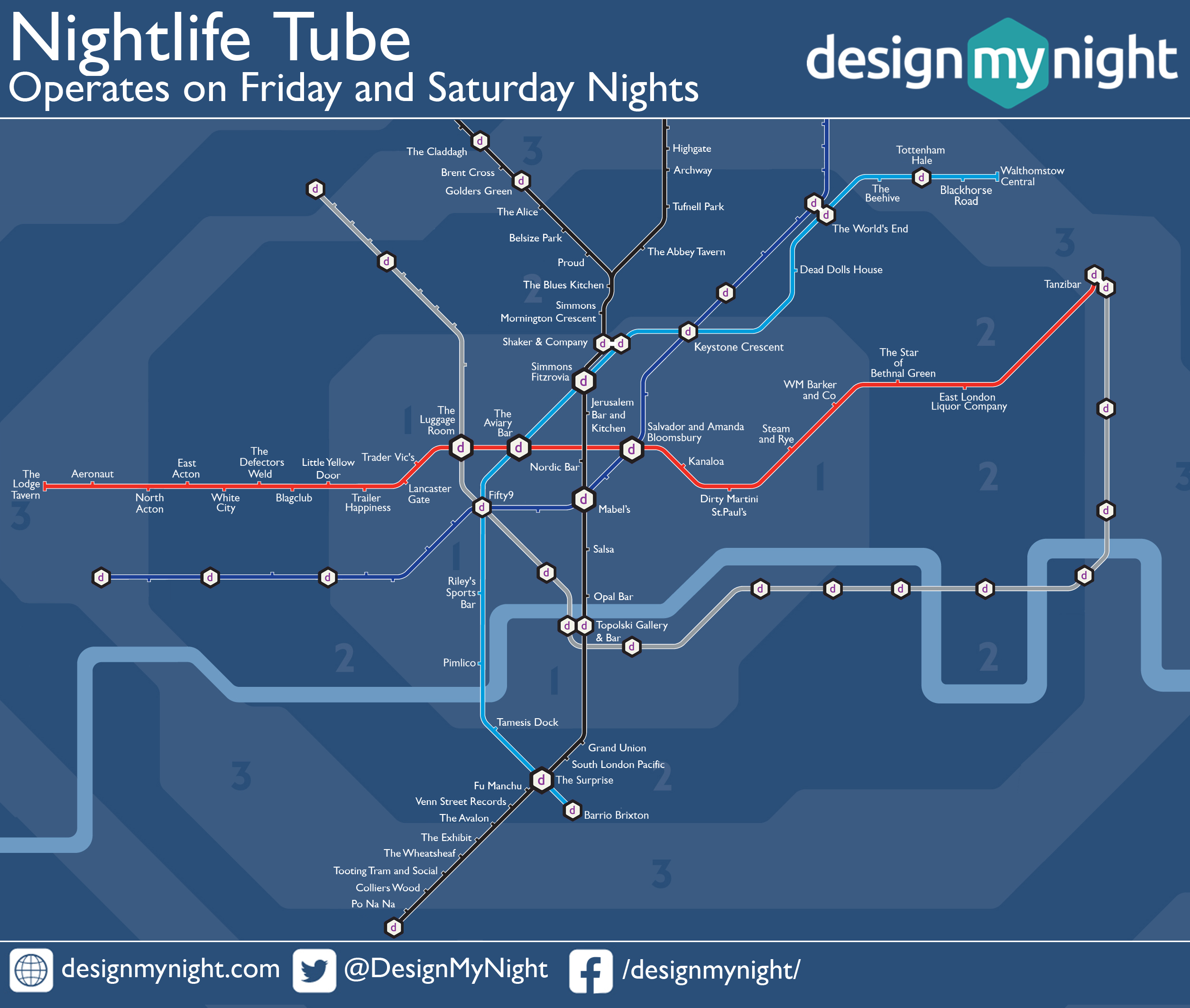 Nightlife Map