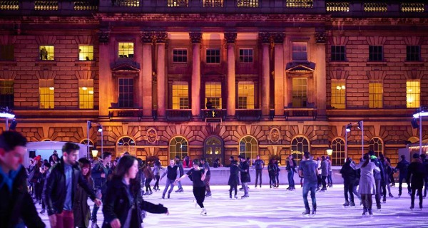somerset house skating london