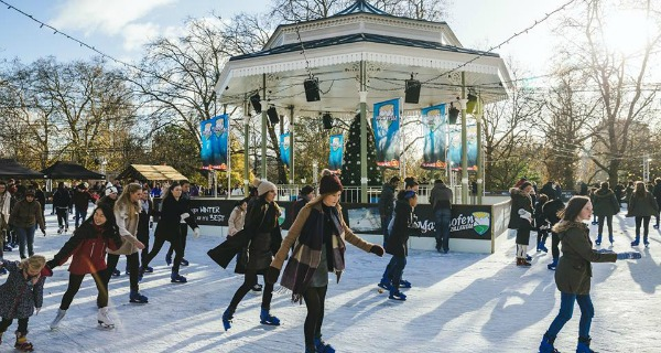 winter wonderland ice rink in london
