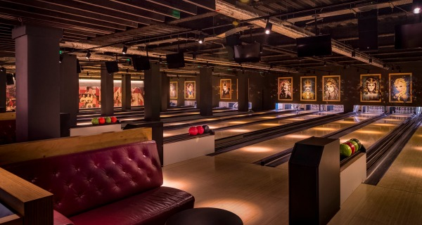 queens dine and bowl london