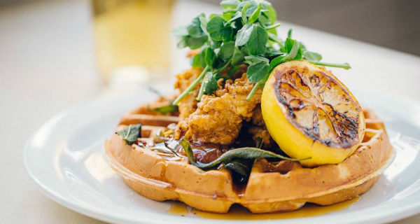 Best Chicken and Waffles in London The Breakfast Club