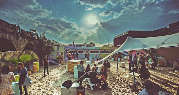 Brixton Beach, Rooftops, South London