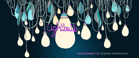 Lightbulb - Your moment of sudden inspiration